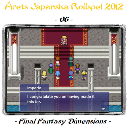 06. Final Fantasy Dimensions