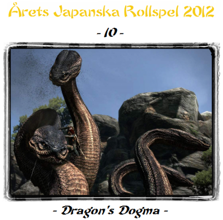 10. Dragon's Dogma