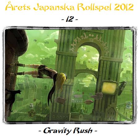 12. Gravity Rush