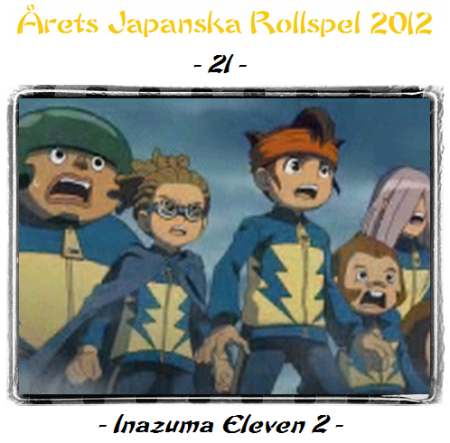 21. Inazuma Eleven 2