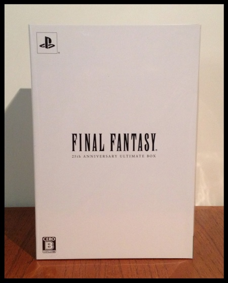 FF 25th Anniversary Box (Front)