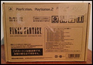 FF 25th Anniversary Box (Shipping Box)