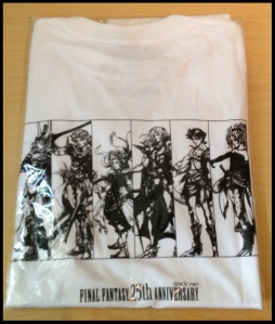 FF 25th shirt