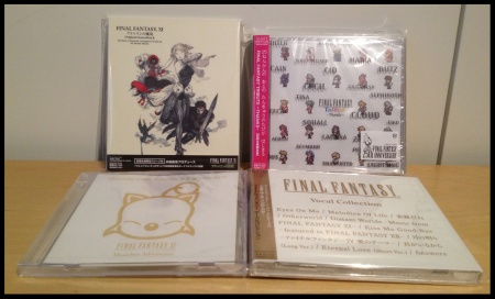 FF11, 3xCollections (Ost)